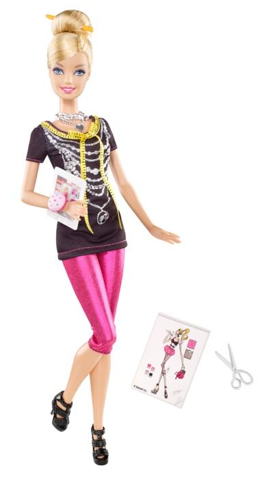 Barbie se estrena como diseñadora de moda | Mamás Saludables