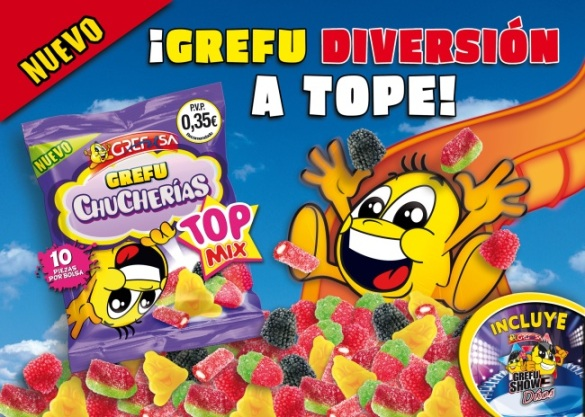 nuevos grefuchuches top mix