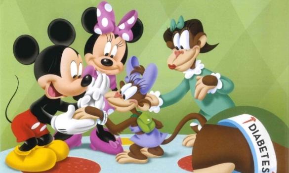 Colaboración Lilly - Disney diabetes