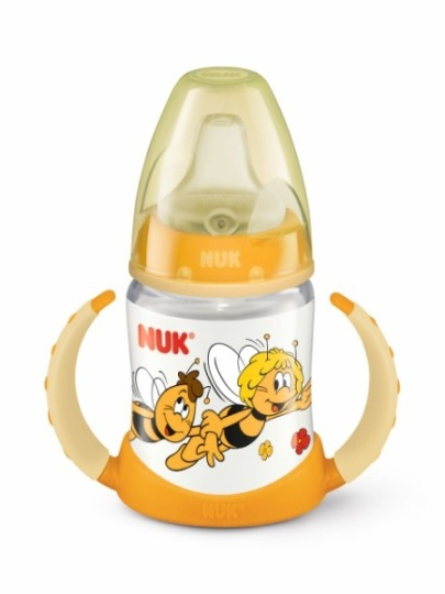 Nuk First choice abeja maya en amarillo