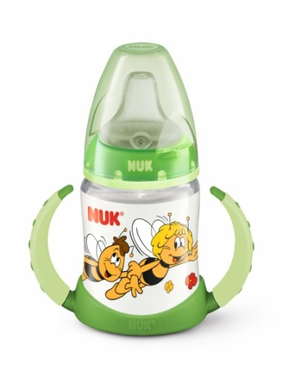 Nuk First choice abeja maya en verde