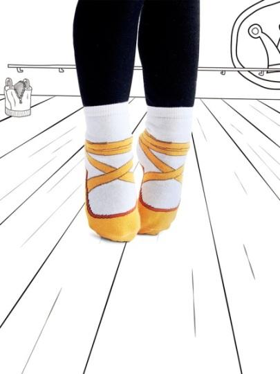 calcetines ballet