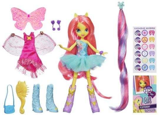 equestria girls con accesorios