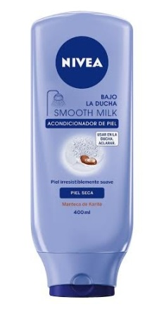 Nivea bajo la ducha smooth milk