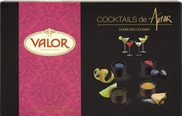 bombones cocktails de autor de Valor