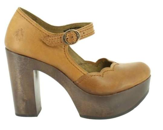 zapato abierto fly london