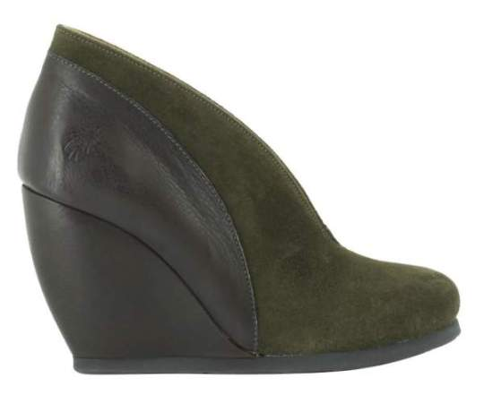 zapato cuña fly london