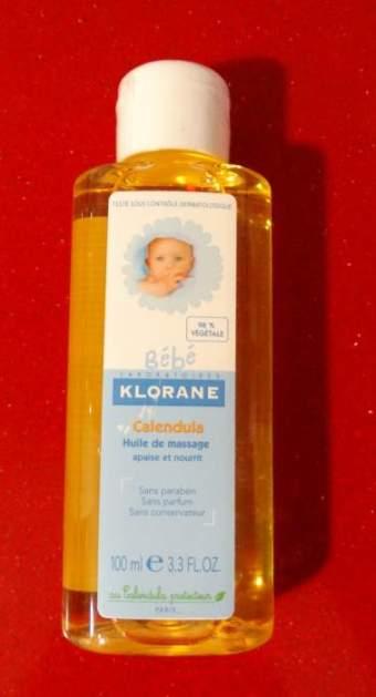Aceite de masaje Klorane