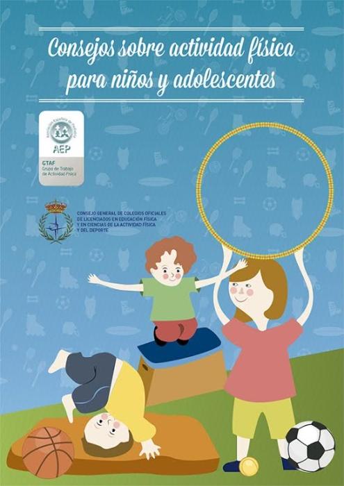 consejos sobre actividad física en niños