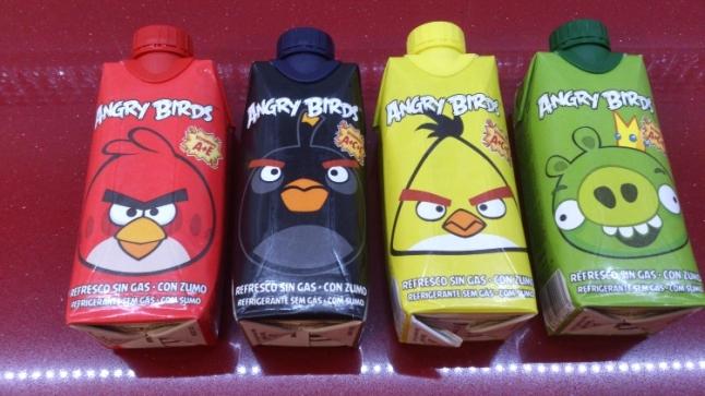 bebidas angry birds