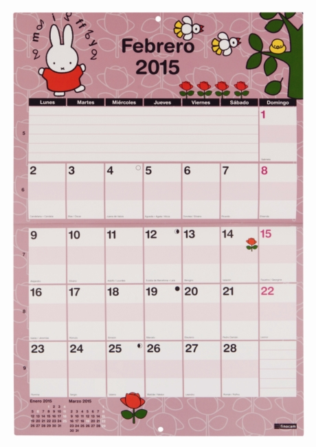 Febrero Miffy