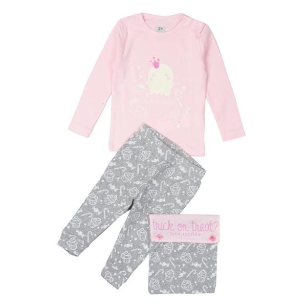 pijama niña halloween