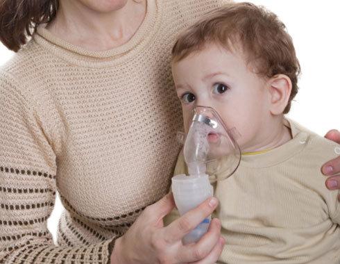 Aerosolterapia en niños