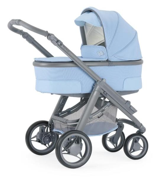 Bebécar azul capazo
