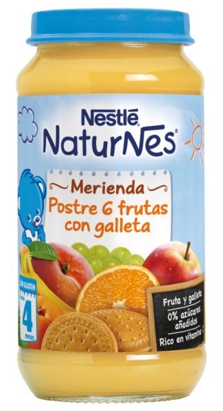 nestle naturnes fruta y galleta