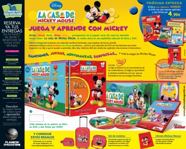 Coleccionable la casa de mickey mouse