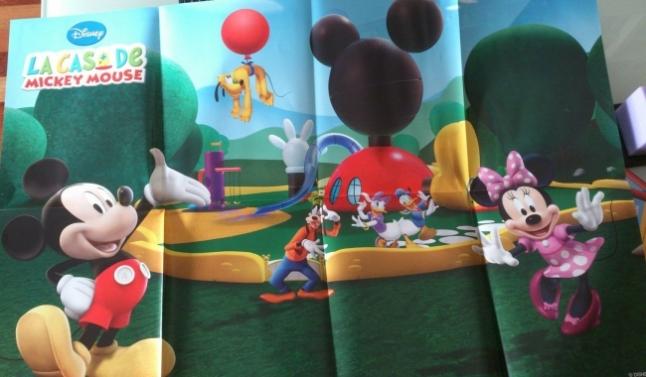 Poster La casa de Mickey Mouse