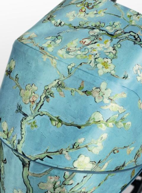 Detalle estampado Almendros en Flor