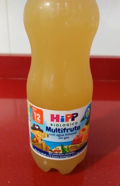 multifruta con agua mineral sin gas