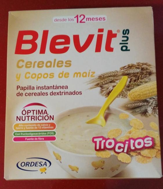 Blevit Plus cereales y copos de maíz