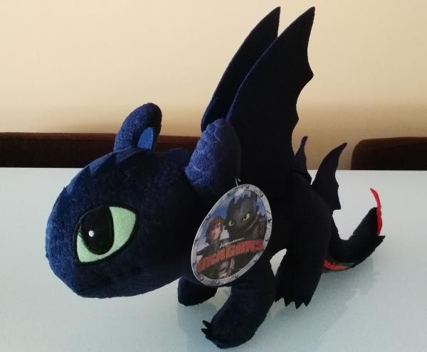 Peluche como entrenar a tu dragon2