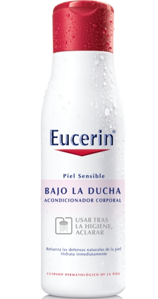 Eucerin bajo la ducha