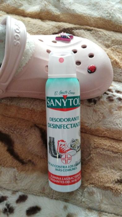 sanytol calzado