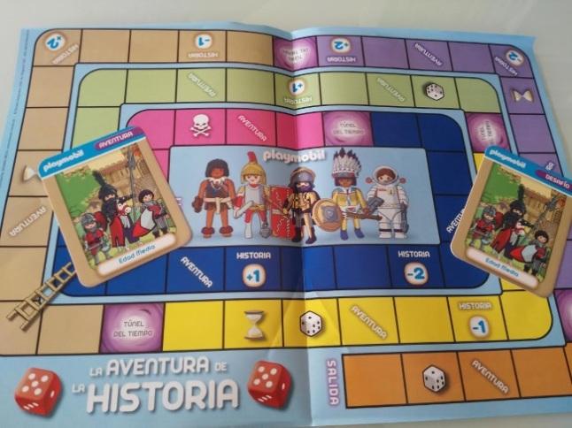 tablero juego playmobil