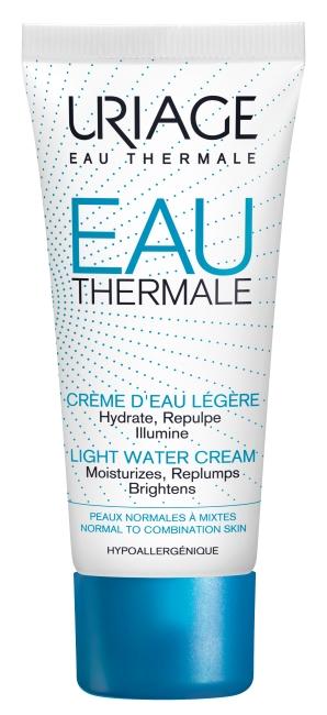crema de agua termal