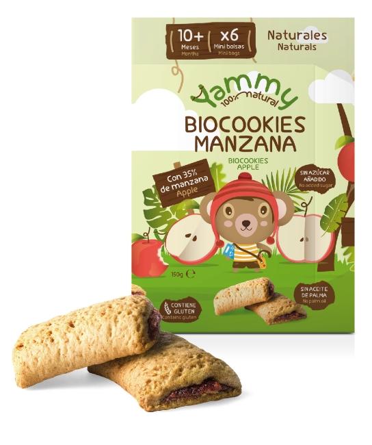 biocookies manzana